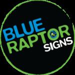 Blue Raptor Signs